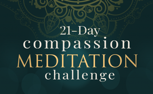 21-day Compassion Meditation Challenge by Andrea Pennington