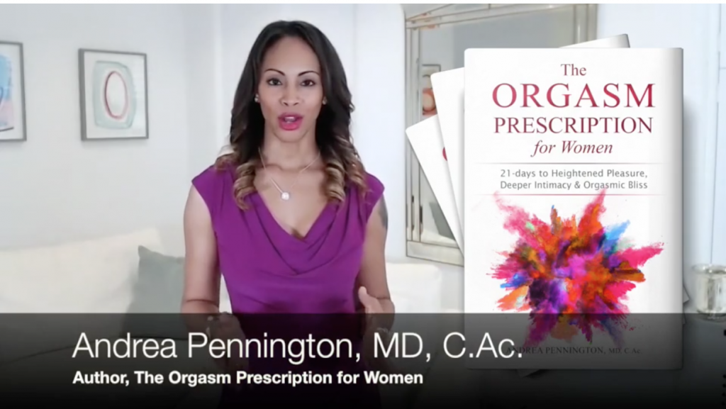 Dr Andrea Pennington, Author of The Orgasm Prescription for Women